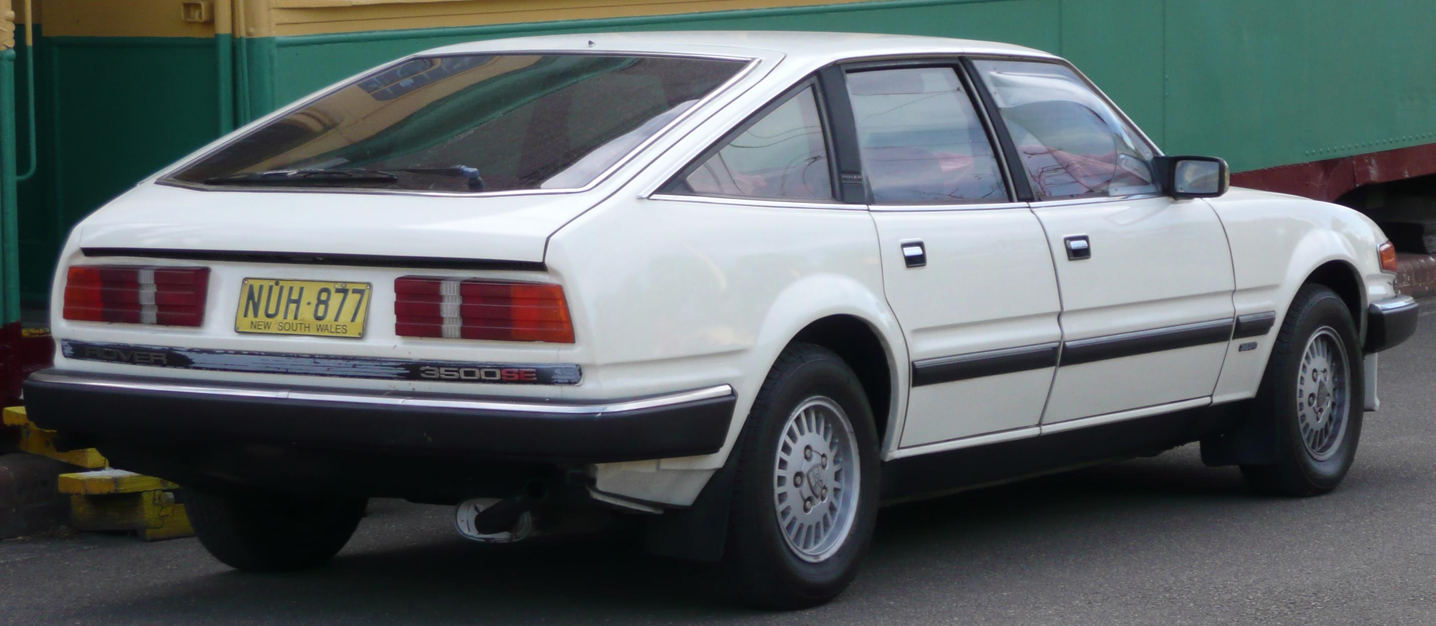 File 1982 1986 Rover 3500 SD1 SE hatchback 01 Wikimedia