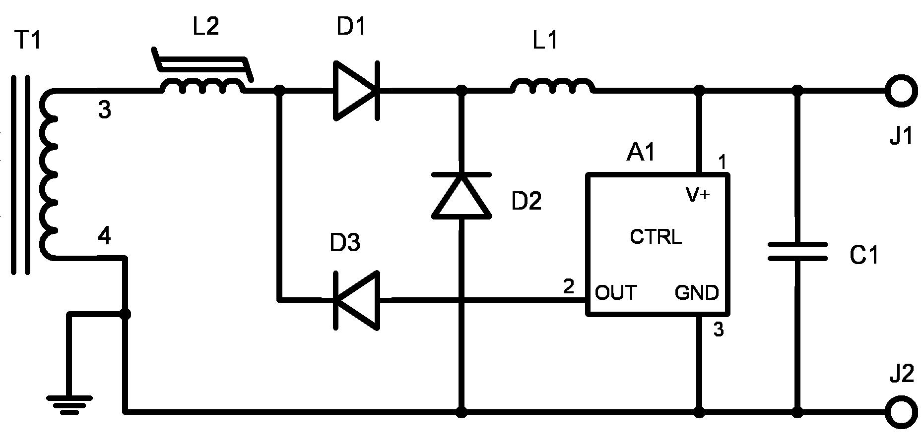 File Magnetic Amplifier Regulator