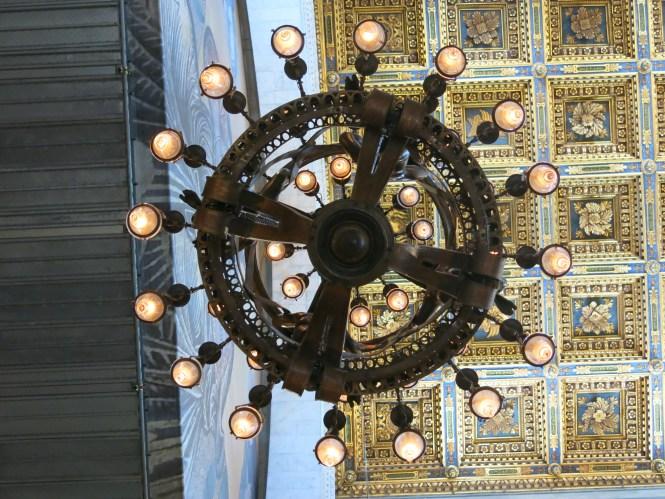 File Pisa Cathedral Galileo Lamp From Below Jpg