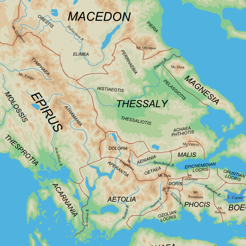 Early Map Crete Greece