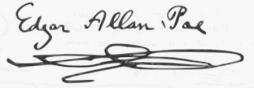 Firma Poe