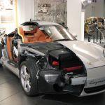 File Porsche Cayman S Cutaway Model Jpg Wikimedia Commons