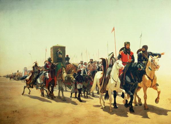 Fichier: Richard-Coeur-de-Lion-sur-son-chemin-à-Jerusalem.JPG