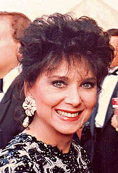 Suzanne Pleshette at 1991 Emmy ceremony