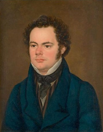 English: Oil painting of Franz Schubert Deutsc...
