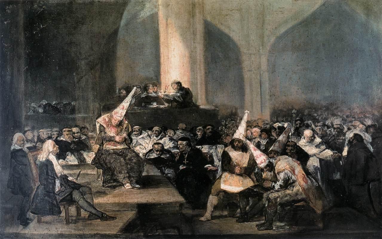 Goya: The Inquisition Tribunal