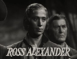 Image result for ross alexander in captain blood