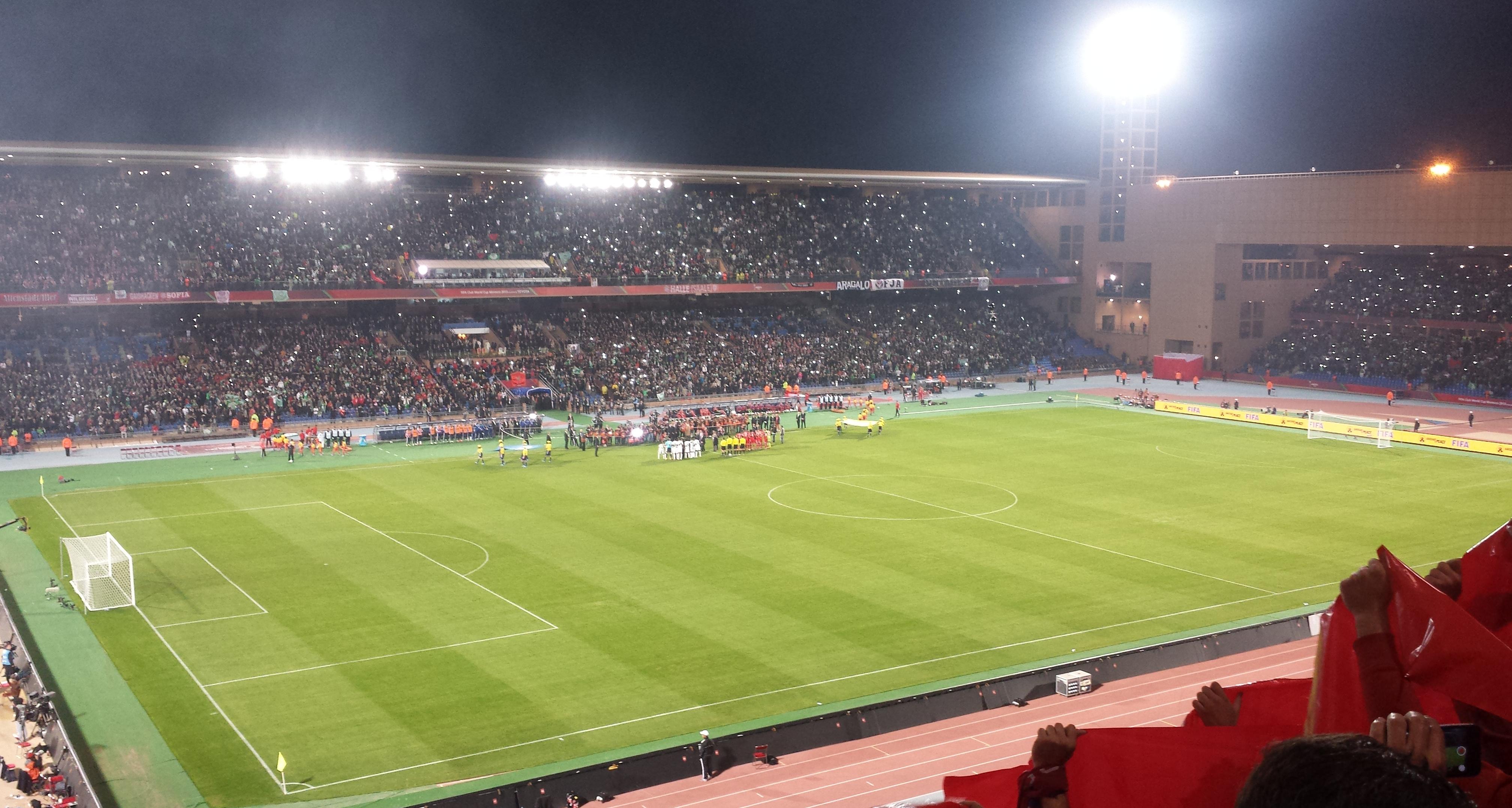 قائمة ملاعب كرة القدم في المغرب ويكيبيديا