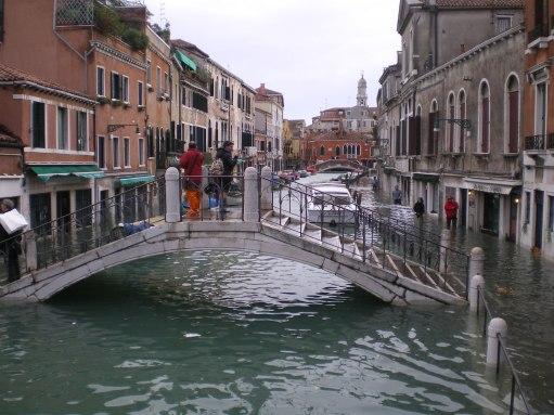Resultado de imagen de acqua alta venecia