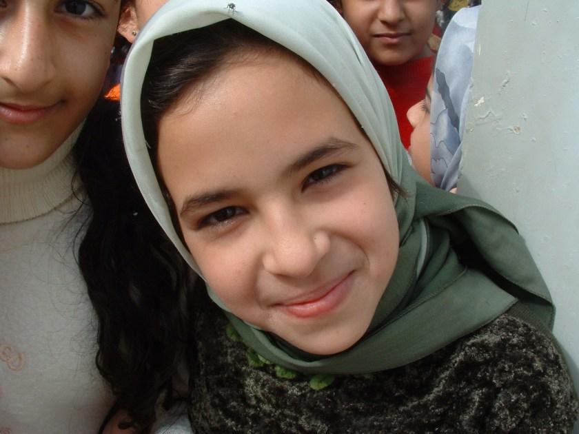 Iraqi girl living next to Al Daura Oil Refiner...