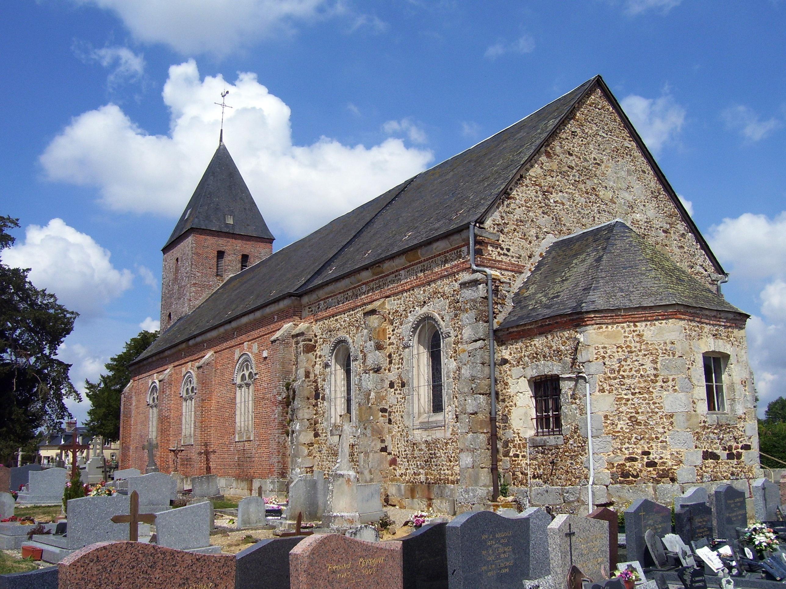 église notre-dame la chapelle-gauthier