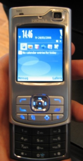 Nokia N80 mobile phone