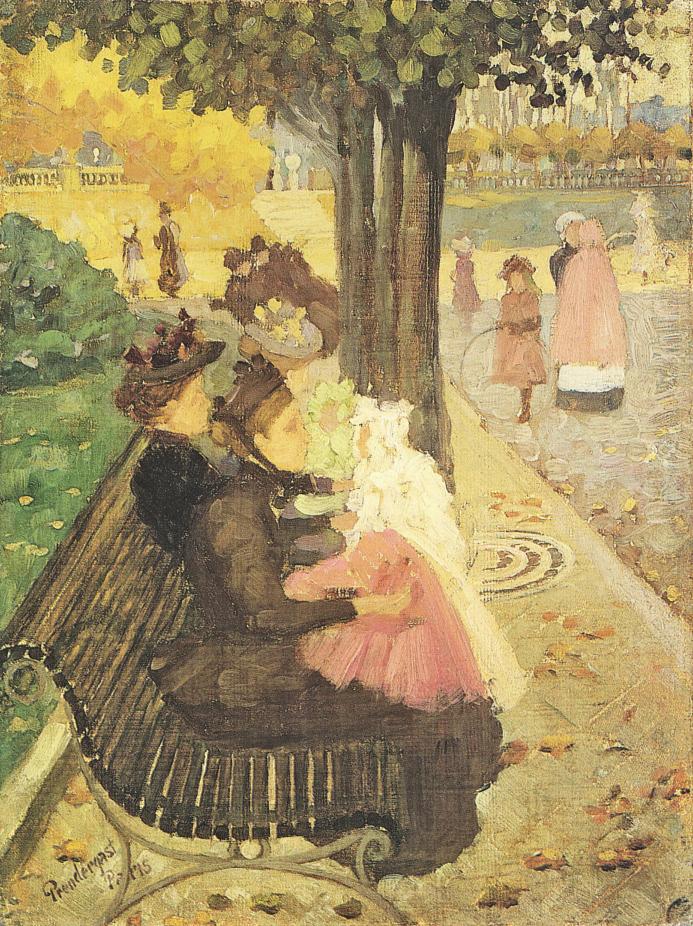 FileMaurice Prendergast 1858 1924 The Tuileries