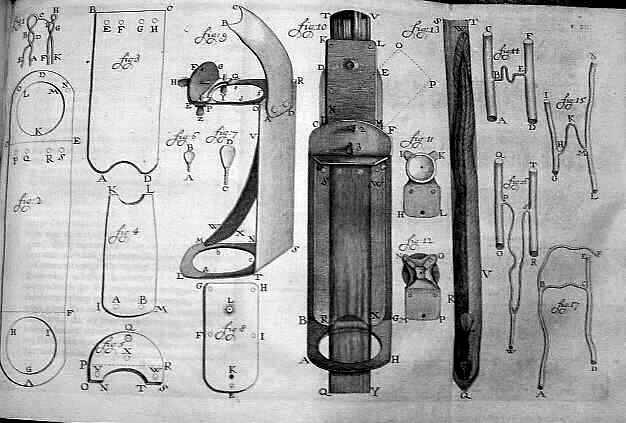 Van Leeuwenhoek's microscopes by Henry Baker