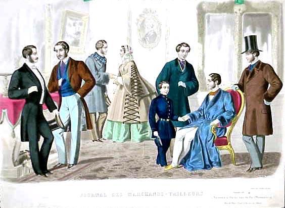 Istorija odevnih predmeta - Page 7 1857_Mens_Fashions