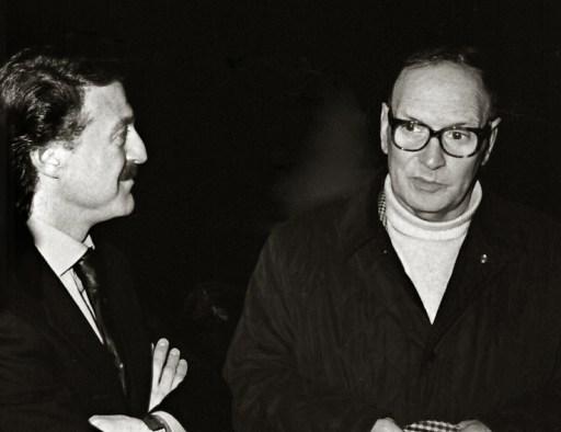 Augusto De Luca e Ennio Morricone