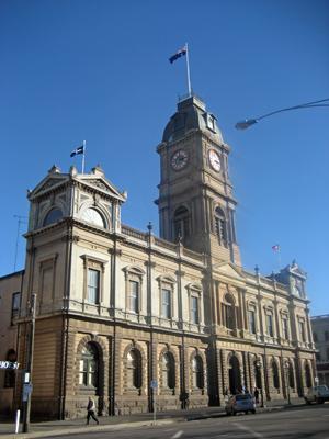 English: Ballarat Town Hall Sturt Street Balla...