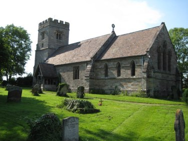 St Peter's parish church, Flyford Flavell, Worcestershire