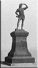 Statue of Leif Erickson which stands in Milwau...