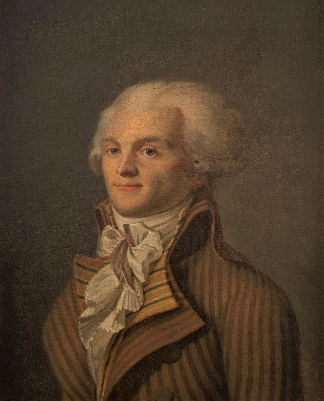 Portrait of Maximilien de Robespierre (1758 -1794).