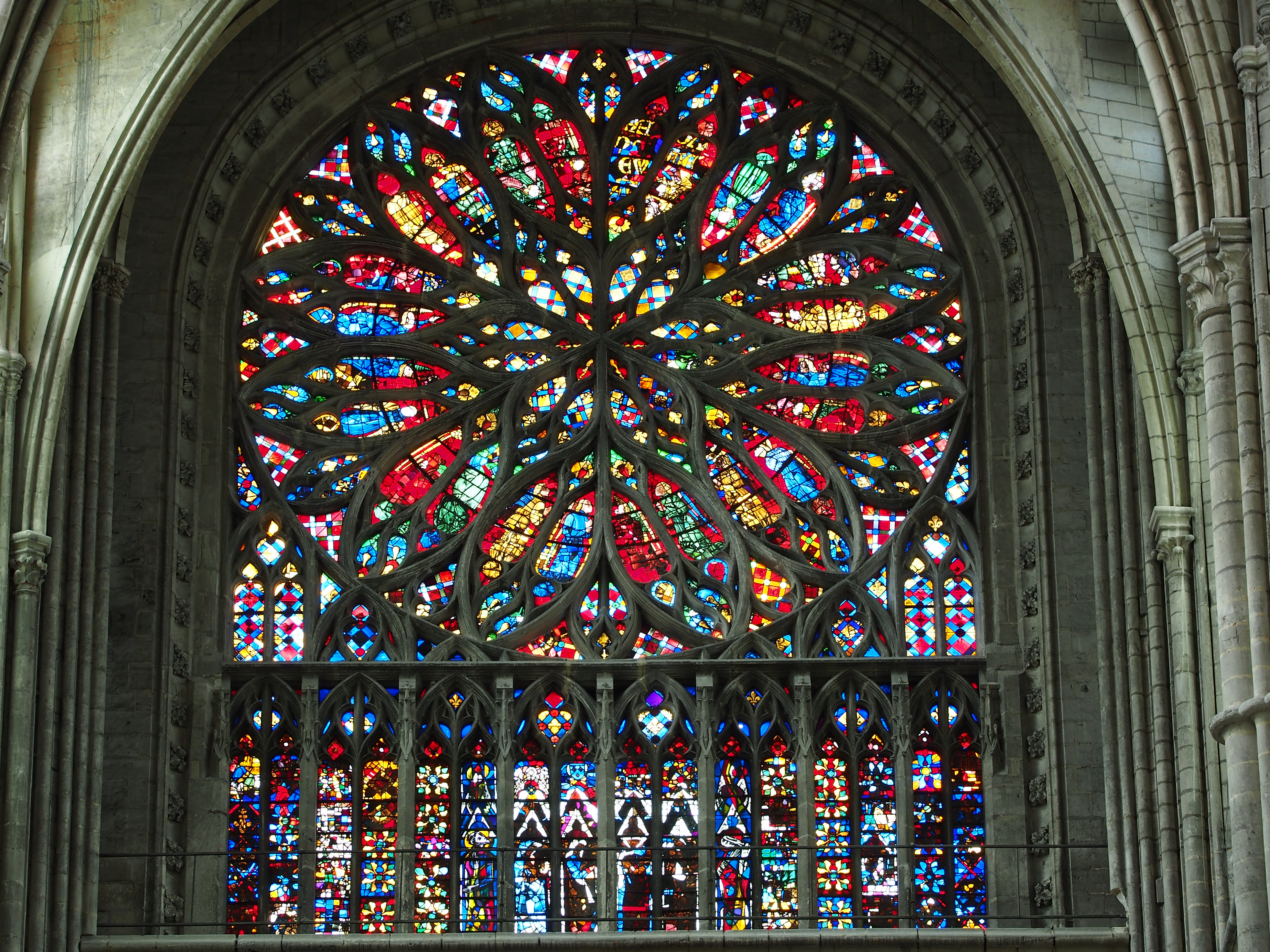 Rose Windows Gothic Cathedrals