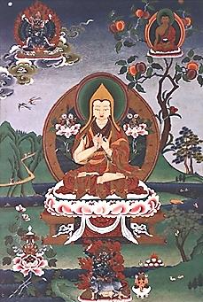 {{nl|:nl:Tsongkhapa in het vijfde visioen van ...