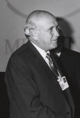 Frederik de Klerk at the Annual Meeting of the...