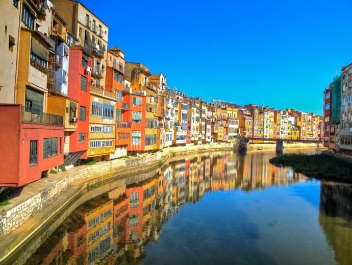 cidades da Catalunha, Espanha girona