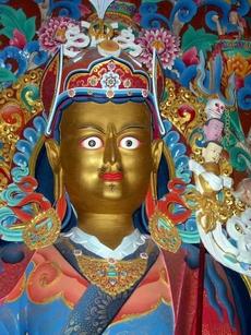 Padmasambhava, a picture I, John Hill, took in...