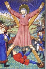 Crucifixion de sanit andré