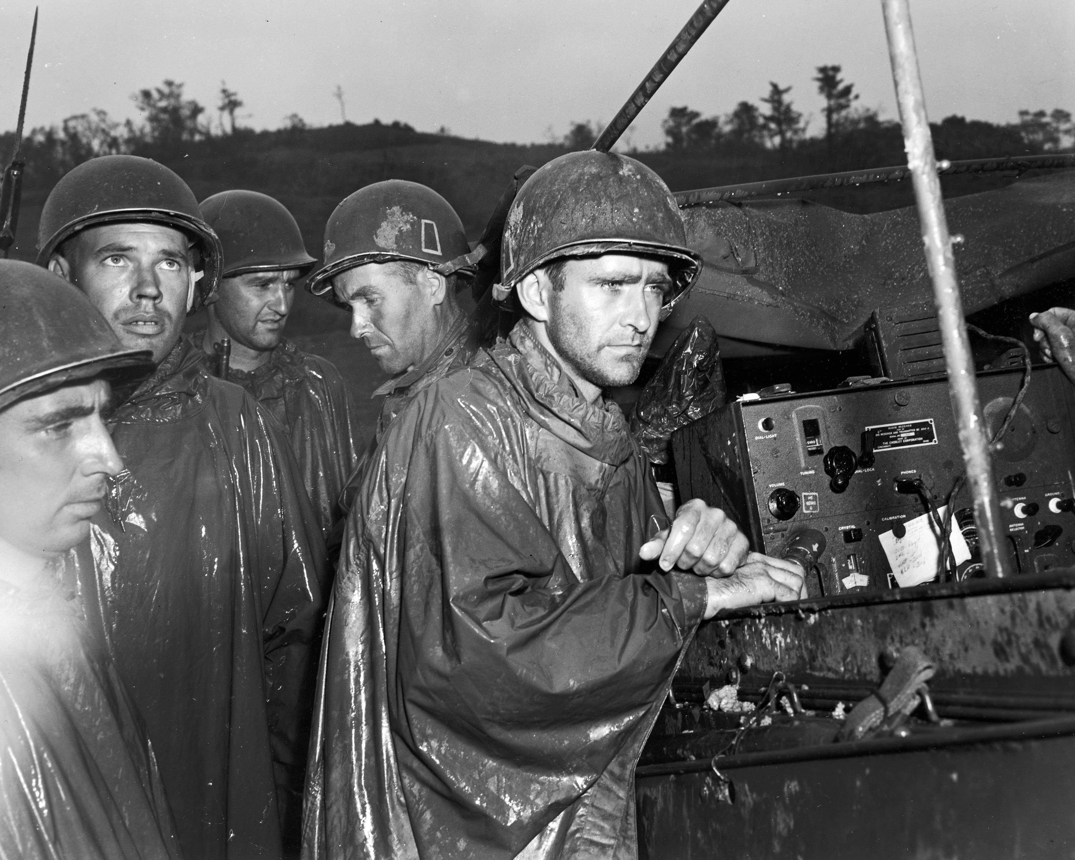 File:Americans on Okinawa hear of victory in Europe.jpg