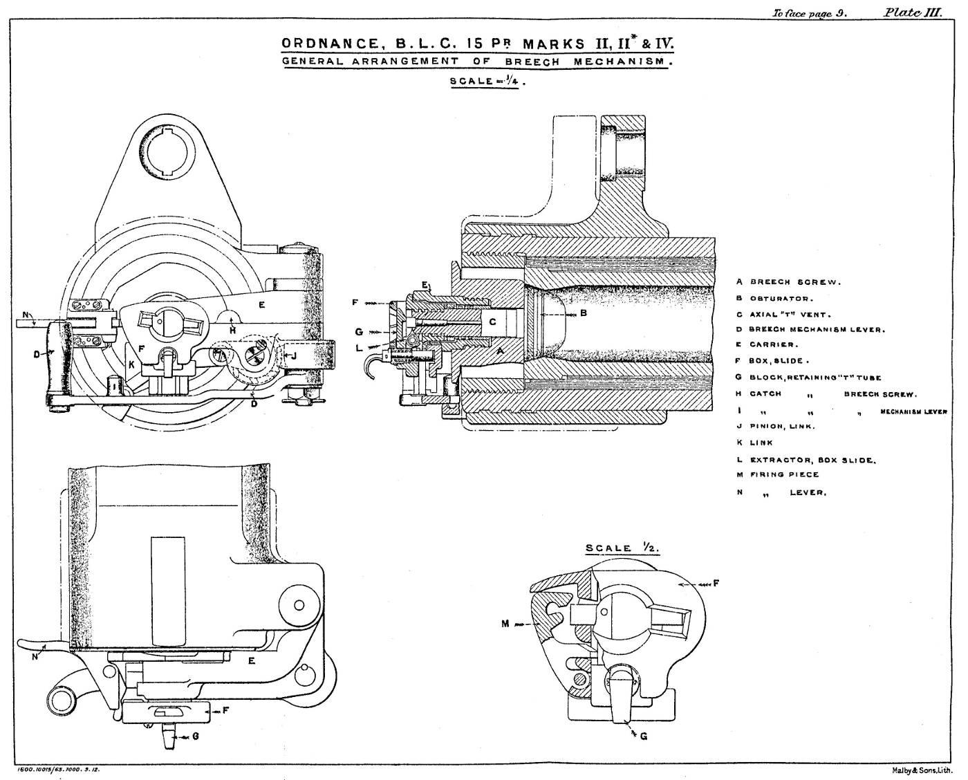 File Blc 15 Pounder Mark Ii Ii Iv Breech Mechanism