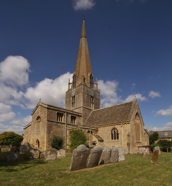 St Mary's Church, Bampton - Wikipedia