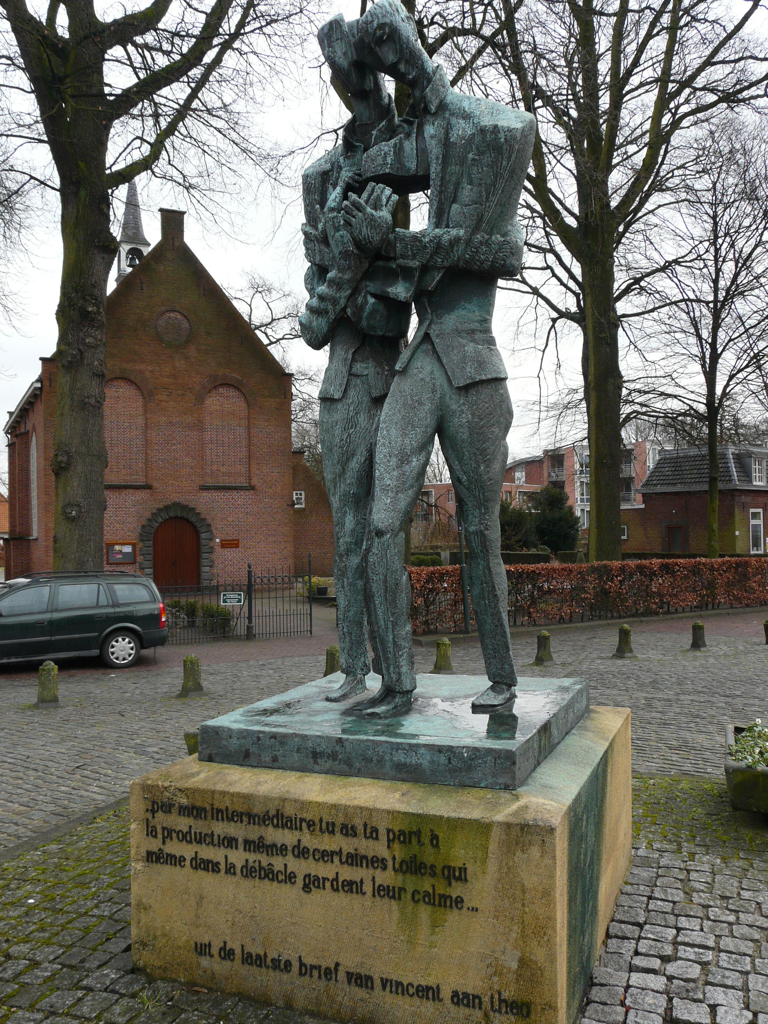 Vincent en Theo van Gogh (1964), Ossip Zadkine