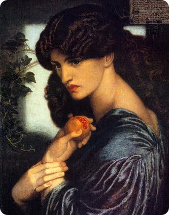 Dante Gabriel Rossetti, Prosepina, 1874