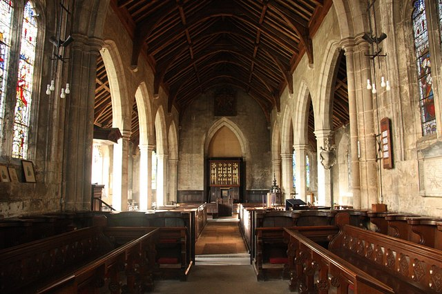 File:All Saints' nave - geograph.org.uk - 1610122.jpg - Wikimedia