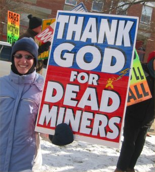 Members of Westboro Baptist Church have been s...