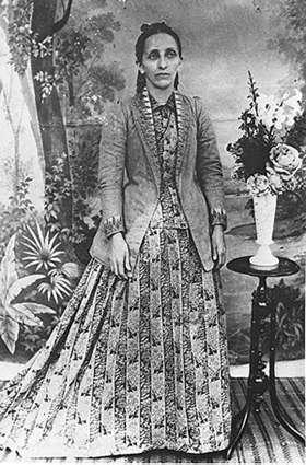 Bahíyyih Khánum in 1895
