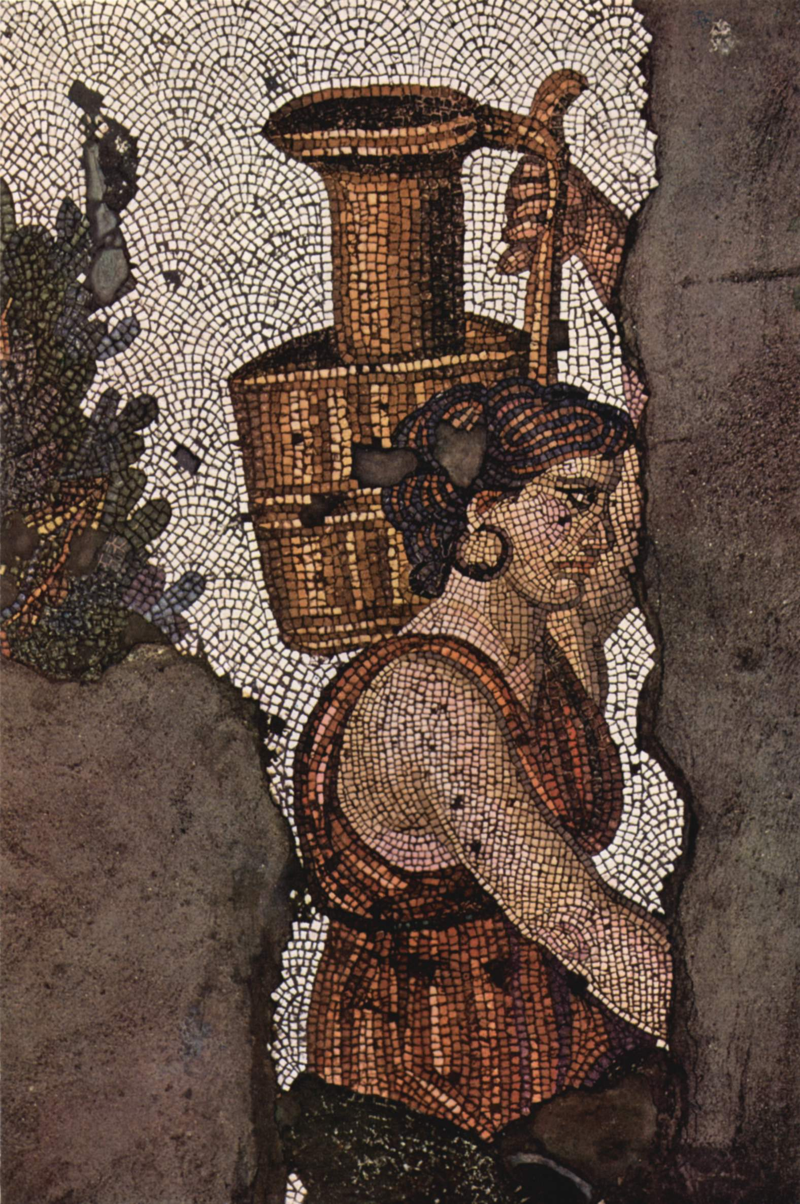 Byzantine mosaic (V century).