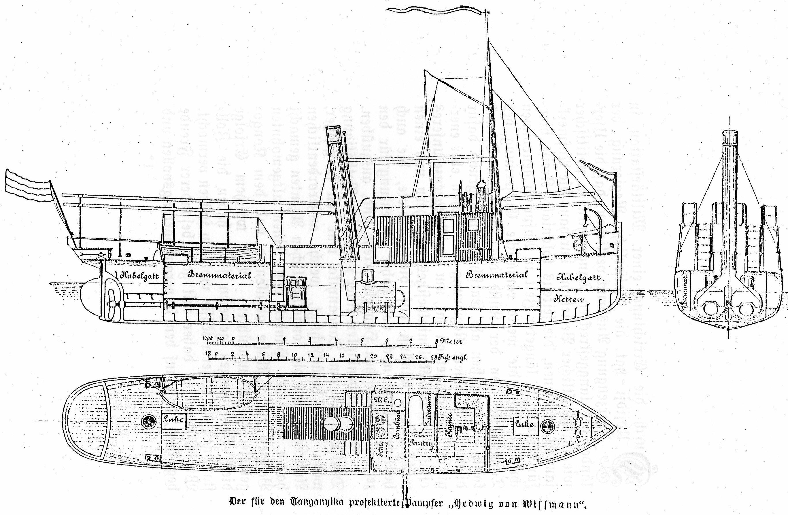 Hedwig Von Wissmann Steamship