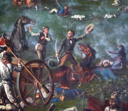 Sam Houston at San Jacinto