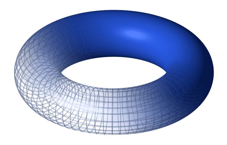 A torus, which is a Riemann surface, via Wikipedia