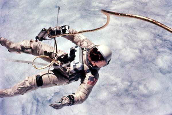 FileAstronaut Edward White first American spacewalk