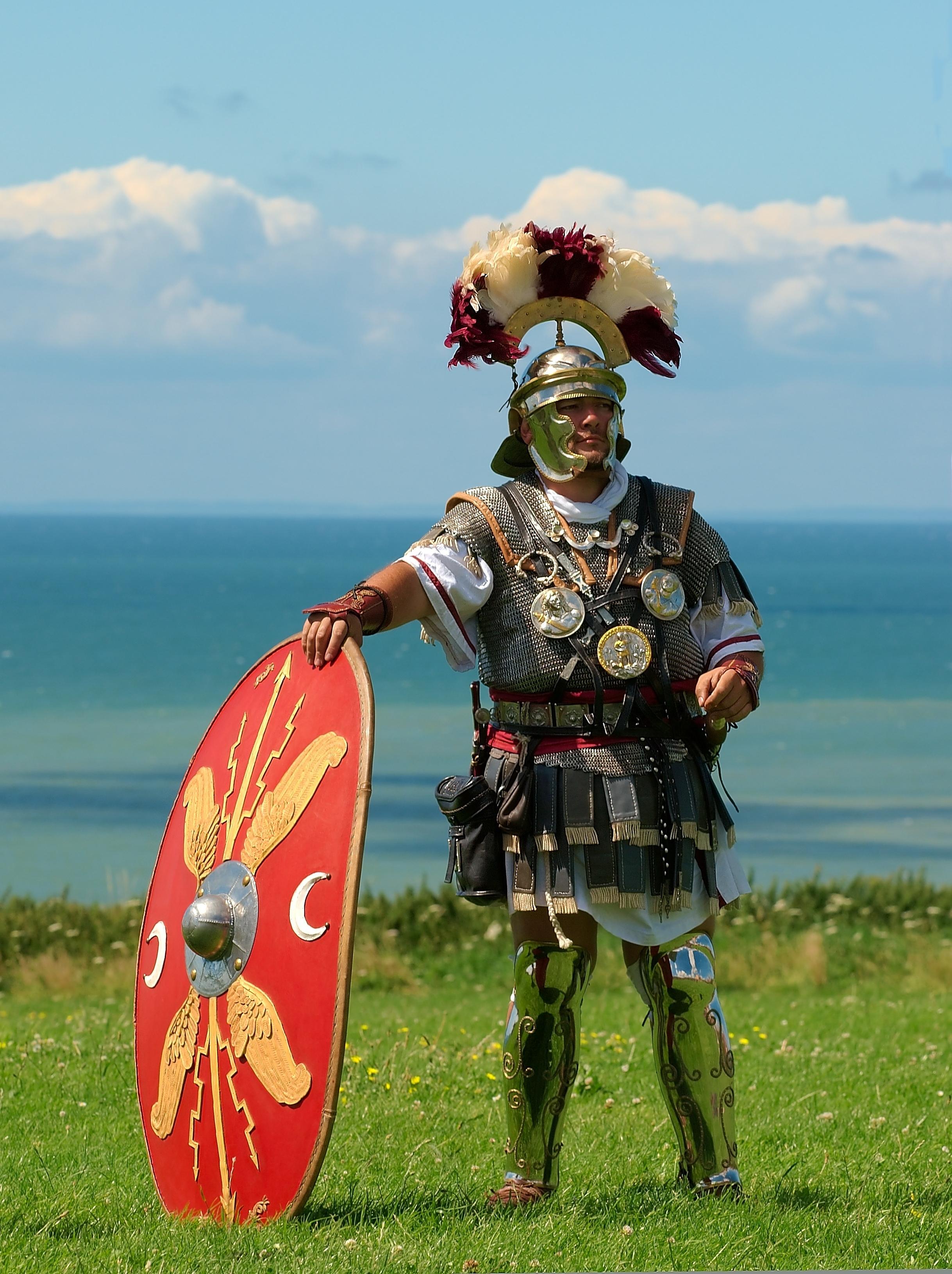 Roman Centurion (Re-enactment), Wikipedia