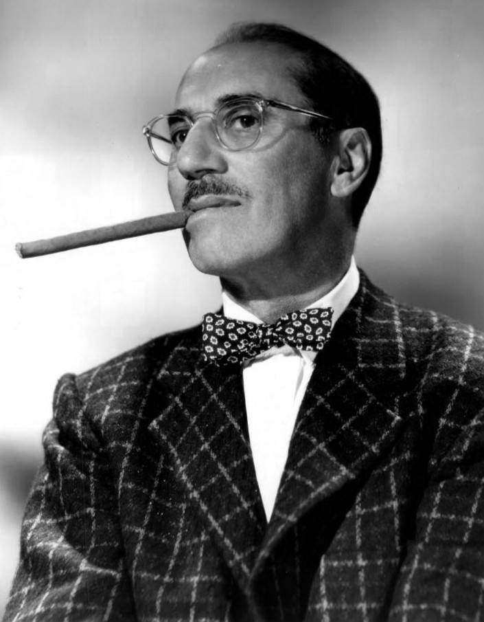 Groucho Marx in an NBC publicity photograph
