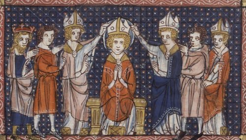 The Ordination of St. Hilary