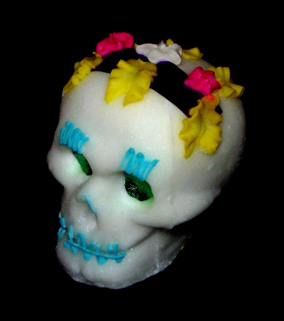A sugar skull (wikipedia)