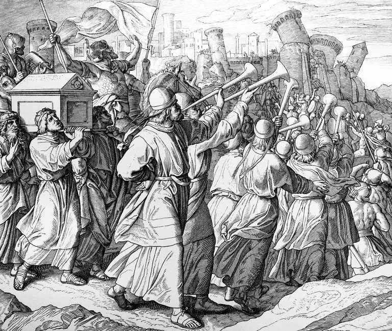 Die Mauern von Jericho fallen