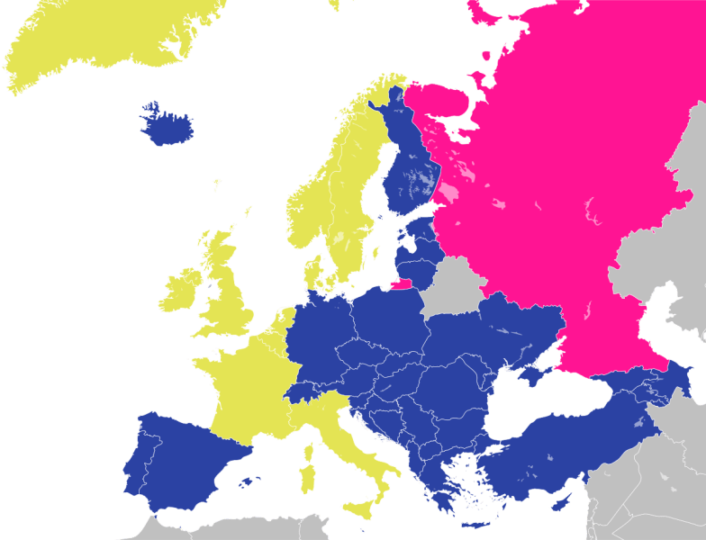 Member states of the Council of Europe   Wikipedia