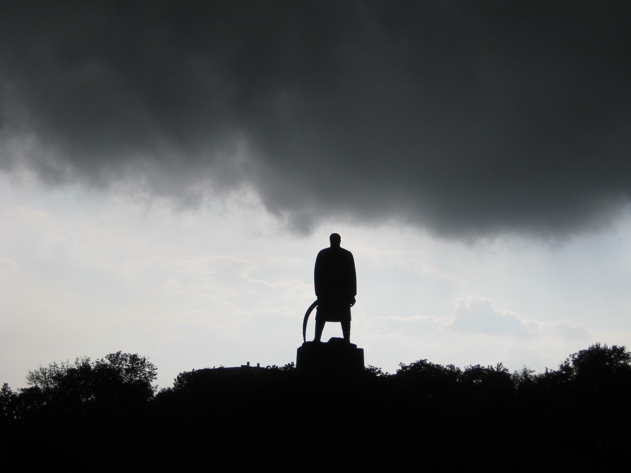 Karađorđe Petrović monument in Belgrade, Serbia